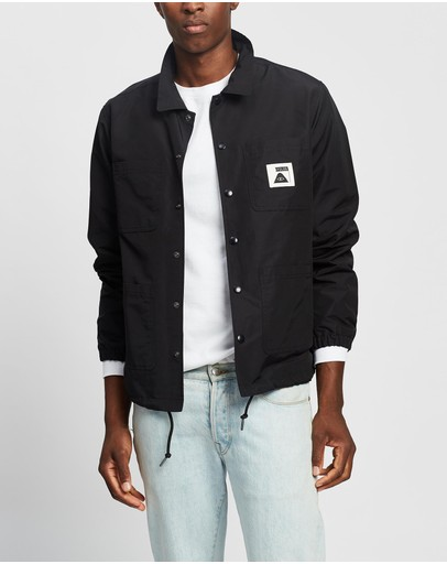 Poler Summit Coverall Coach Jacket Black