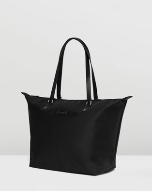 Lipault Paris Lady Plume Tote Bag Medium - Bags (Black)