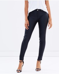 Atmos&Here - Bridget Coated Ankle Grazer Jeans