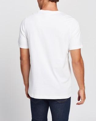 adidas Originals ZX Chest Print Tee - Short Sleeve T-Shirts (White)