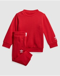 adidas Originals - Big Trefoil Crew Set