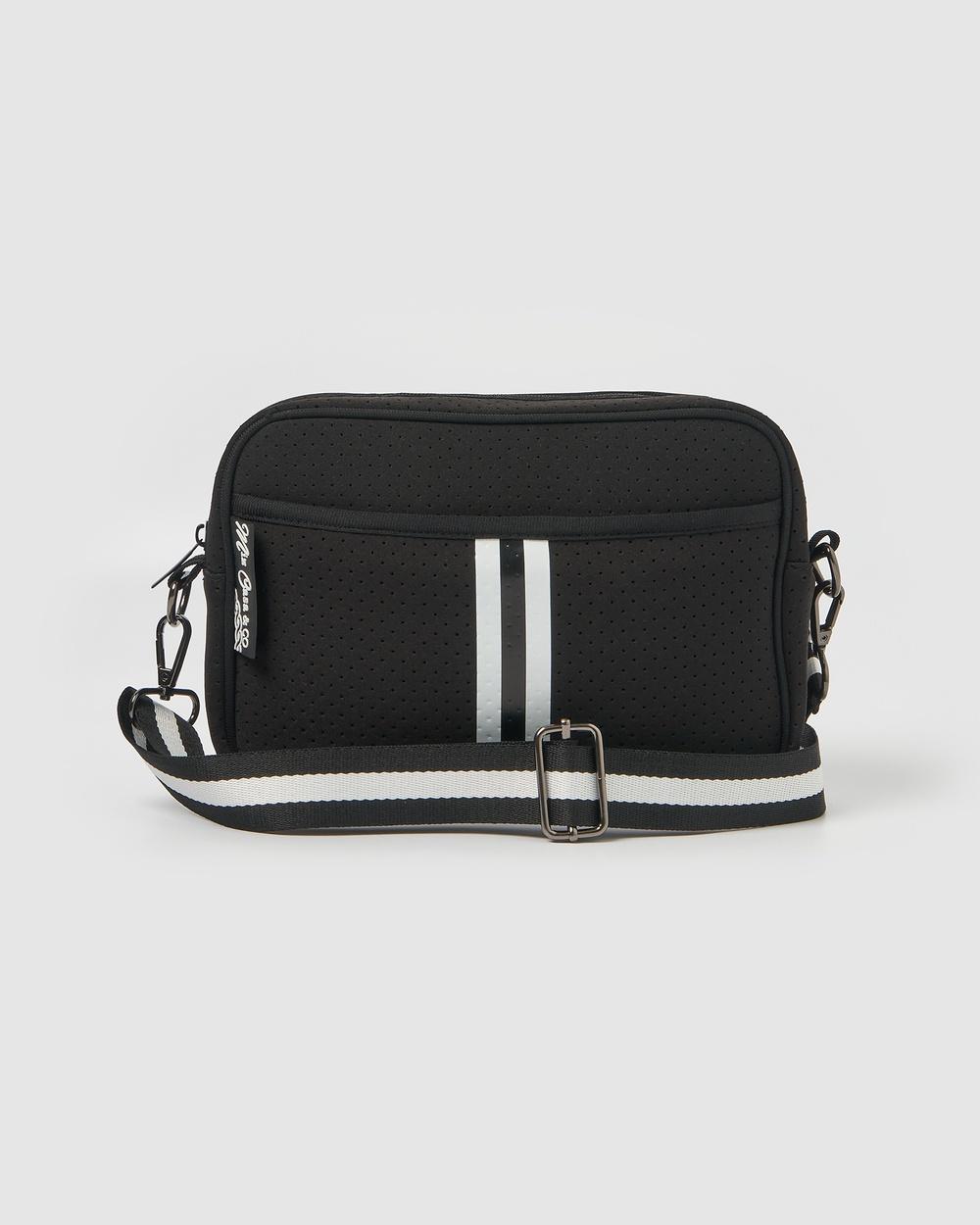 Miz Casa and Co Lola Crossbody Neoprene Bag Bags Black