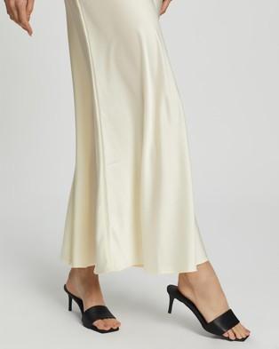 Dazie Game Changer Midi Skirt - Skirts (Cream)