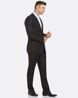 Kelly Country PGH Pure Wool Black Suit - Suits & Blazers (Black)