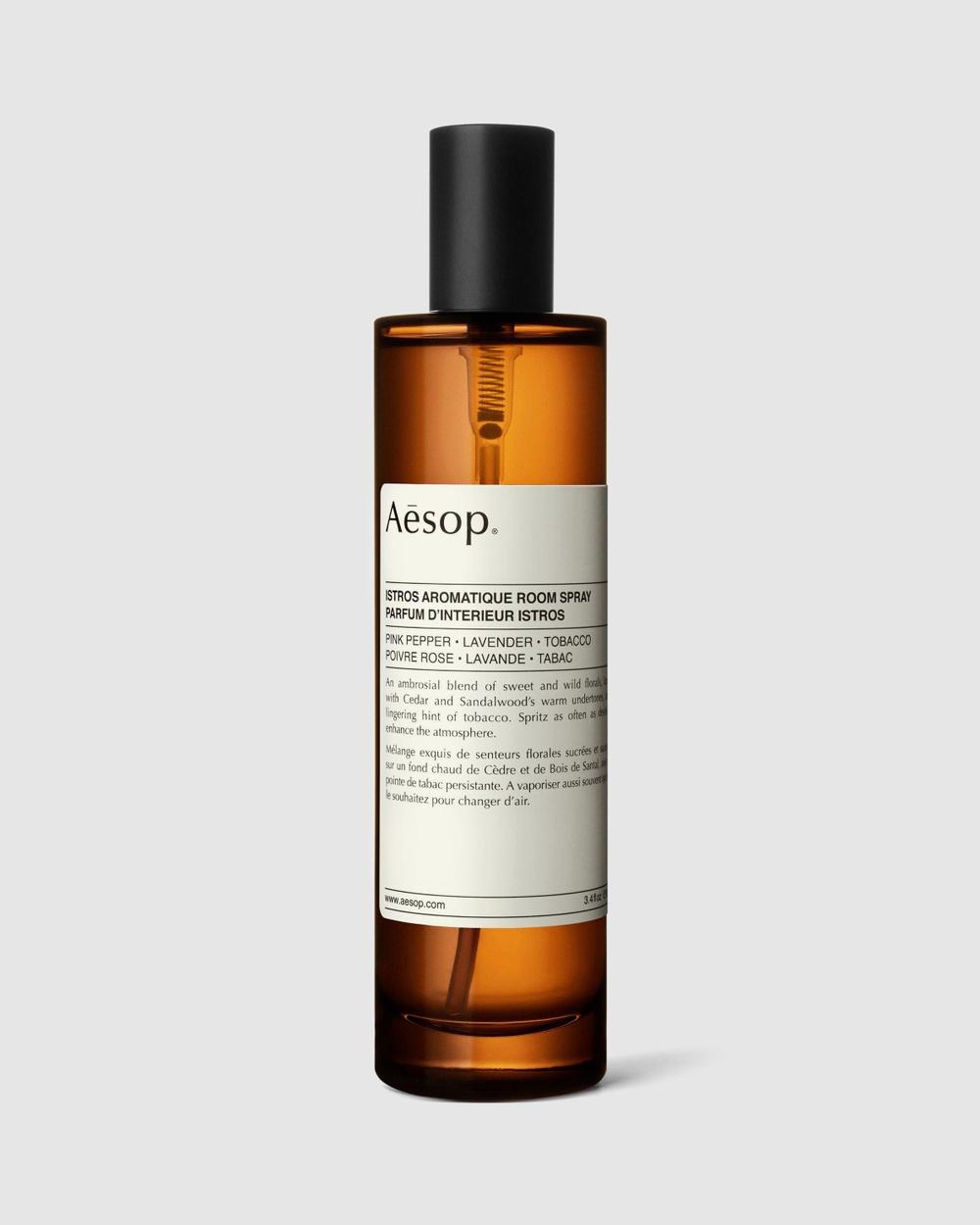 Aesop Istros Aromatique Room Spray 100mL Home Fragrance N/A
