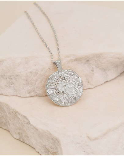 By Charlotte - Leo Zodiac Necklace