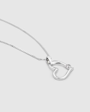 Michael Hill - Heart Pendant  - Jewellery (Silver) Heart Pendant