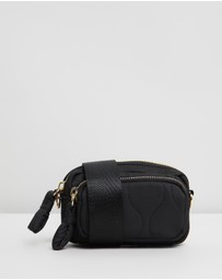 TOPSHOP - Micro Quilted Cross-Body Bag