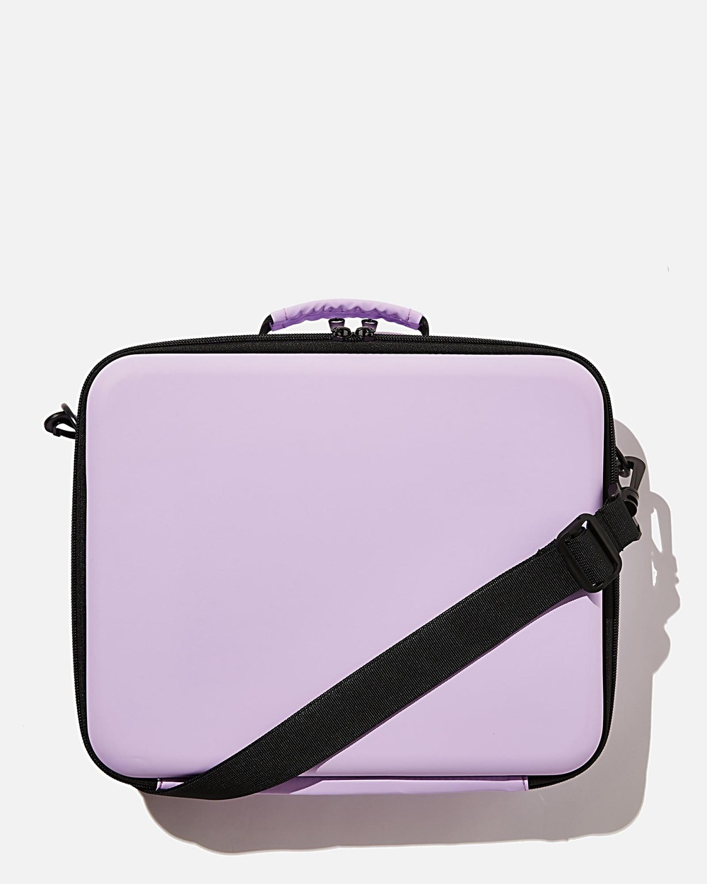 Typo Hustle Hard Case Tech Accessories Gingham Pale Lilac