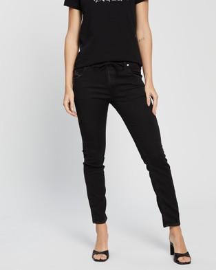Diesel Krailey R NE Jogg Jeans - Relaxed Jeans (Black)