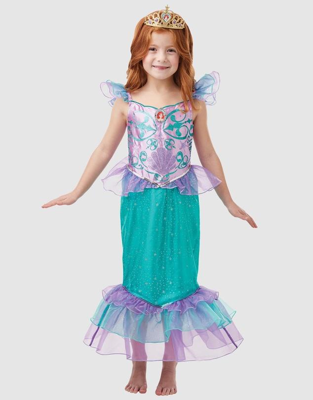 Kids Ariel Glitter Sparkle Costume - Kids