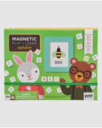 Petit Collage - Magnetic Play & Learn - Alphabet