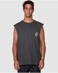 RVCA - Mushie Kid Pocket Muscle