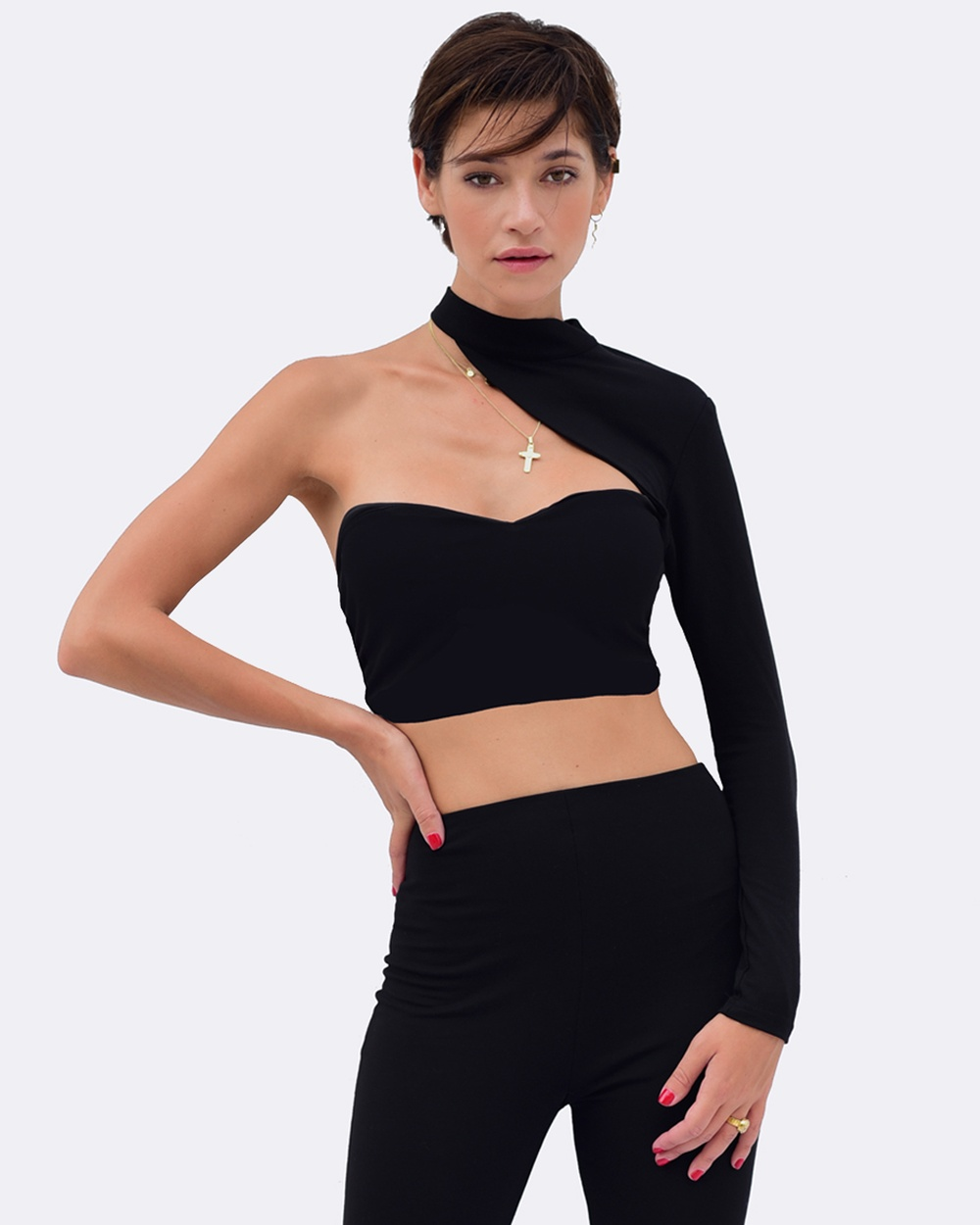 ZINGIBER Suki Crop Cropped tops black Suki Crop