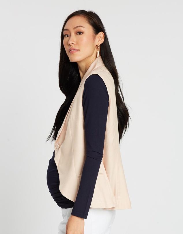 Women Messina Maternity Waistcoat