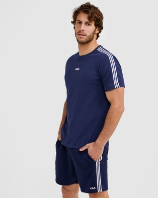 Fila Thomas Tee - T-Shirts & Singlets (New Navy)