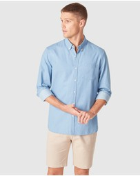 French Connection - Chambray Regular Fit Shirt
