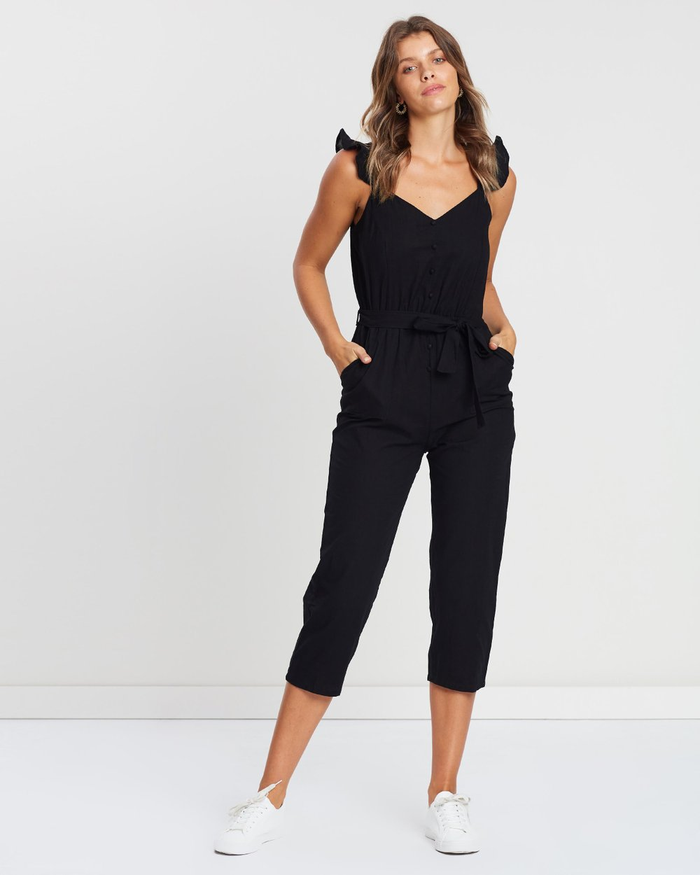 2e3abbcc75b6 Woven Flo Tapered Jumpsuit by Cotton On Online