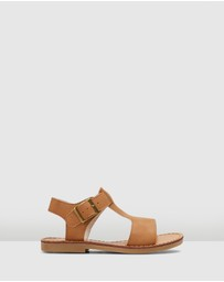 Walnut Melbourne - Racer Sandals