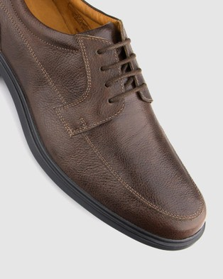 Airflex Lounge Derby Dress Shoes - Dress Shoes (Brown)
