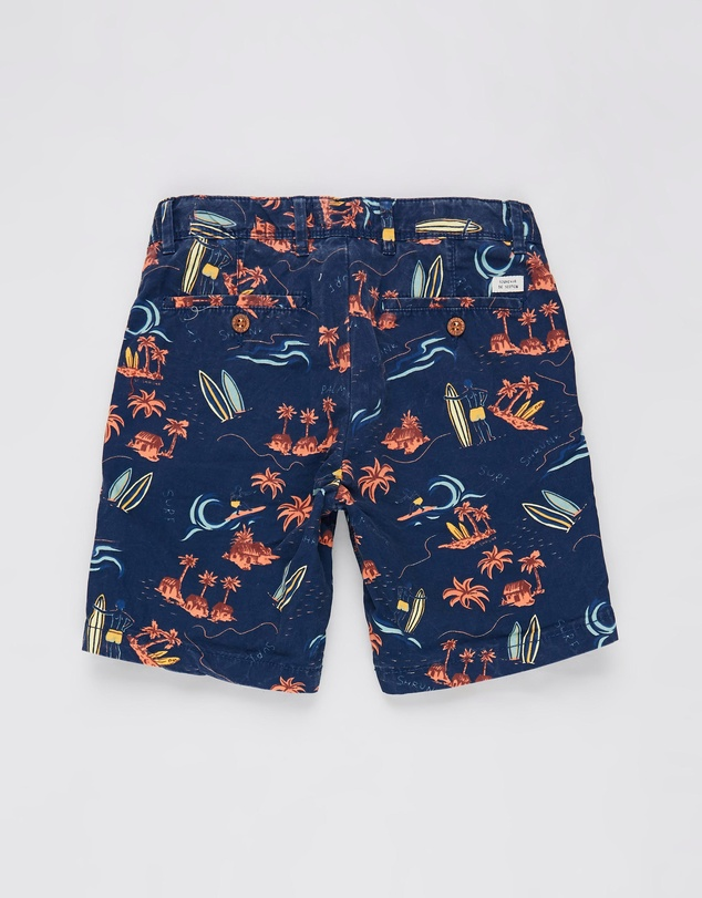 Scotch Shrunk - All-Over Printed Chino Shorts - Teens