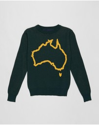 Raised by the Desert - Island Home Olympic Jumper - Kids-Teens