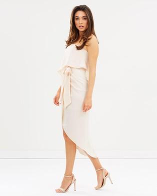 Esther Luxe - Fleur Strapless Dress Bridesmaid Dresses (Nude)