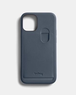 Bellroy Phone Case 1 card i12 Mini Tech Accessories Grey
