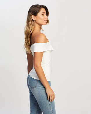 Atmos&Here Ivanna Top Cropped tops White