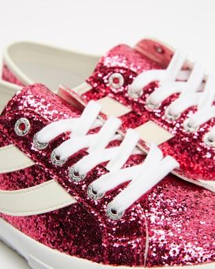 Superga 2953 Glitter   Women's - Sneakers (Fuchsia)