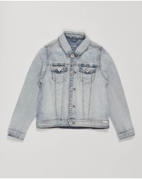 jac & mooki jnr - Denim Relaxed Jacket