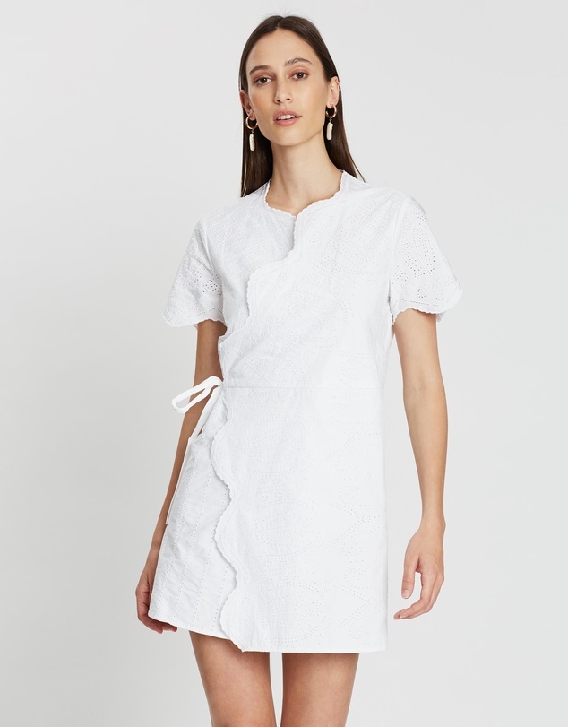 SIR THE LABEL. - Delilah Wrap Tee Dress