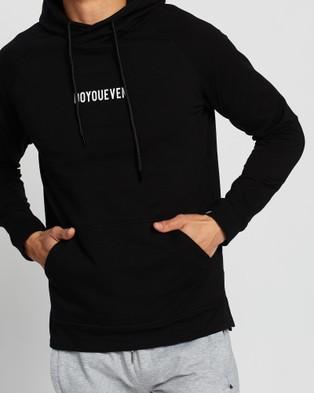 Doyoueven Origin Athletic Hoodie - Hoodies (Black)