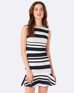 Forever New – Yasmin Flippy Stripe Day Dress