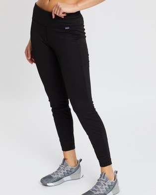 Patagonia Cap Mid Weight Bottoms - Bottoms (Black)