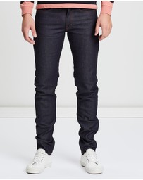 Kent and Curwen - Skinny Fit Raw Denim Jeans