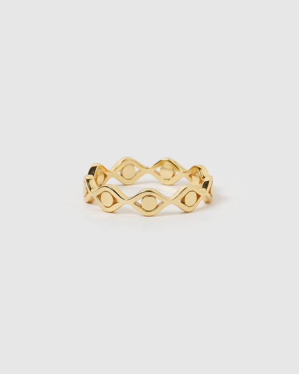 Izoa Anastasia ring Gold Jewellery Gold