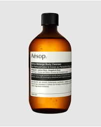 Aesop - Citrus Melange Body Cleanser 500mL with Screw Cap