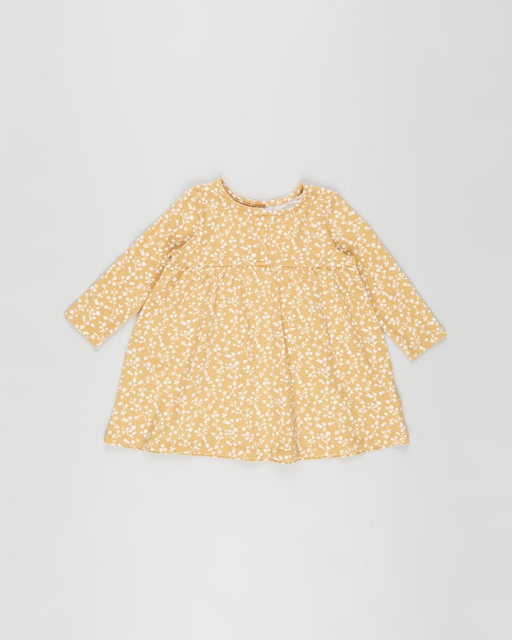 Cotton On Baby Molly Long Sleeve Dress Babies Printed Dresses Vintage Honey & Vanilla Sierra Floral Australia