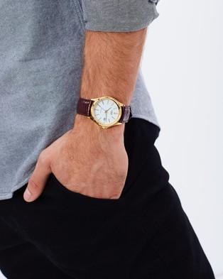 Casio Analogue Vintage - Watches (Brown & Gold)