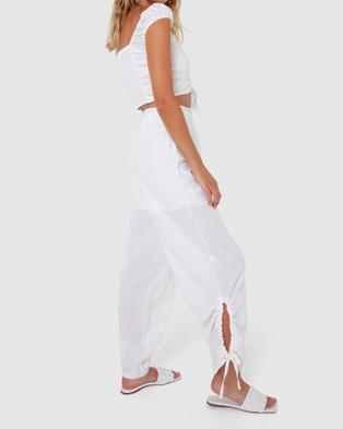 Madison The Label Serena Pants - Pants (White)