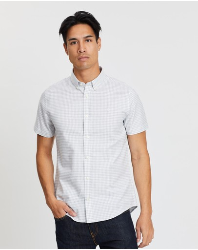 Burton Menswear - SS Gingham Oxford Shirt