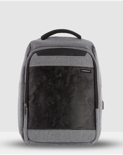 Cobb & Co Bowie Anti-theft Backpack Black