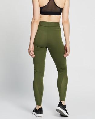 adidas Performance Sportswear Cotton Leggings - Full Tights (Wild Pine)