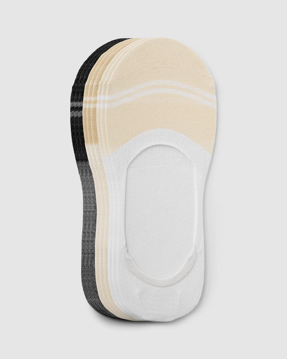 Sockdaily True Invis No Show Socks 9 Pack Multi