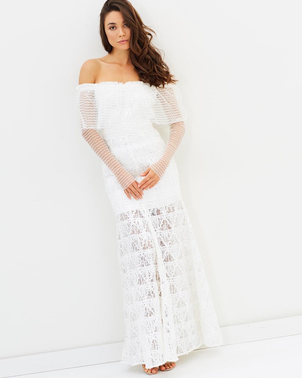 Asilio Eastern Lights Dress Bridesmaid Dresses Powder Eastern Lights Dress