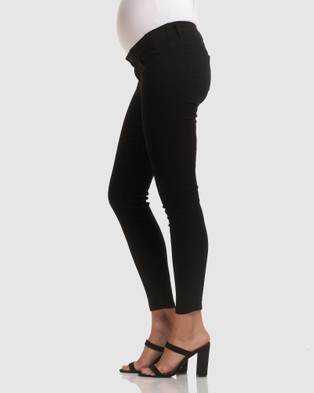 Soon Maternity Underbelly Skinny Jeans - Jeans (BLACK)