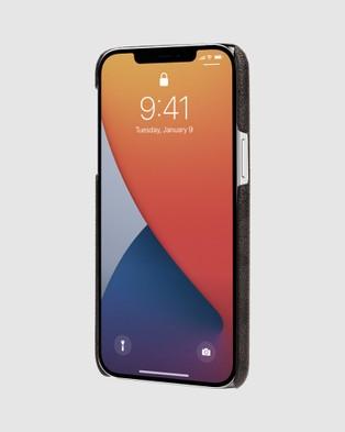 Coach Slim Wrap Case for iPhone 12 Pro Max - Tech Accessories (Black)