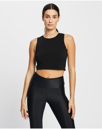 Nimble Activewear - Cropped Rib Tank