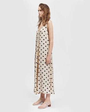 bul Leongatha Dress - Dresses (Cream/Black Spot)